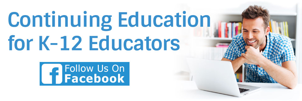 Online continuing education courses for teachers